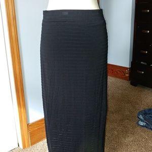 Maxi Skirt in Black